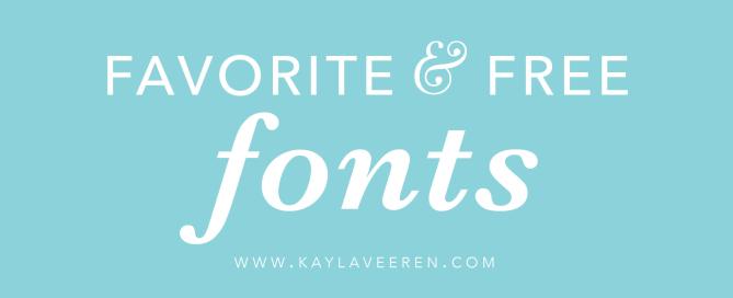 Favorite_Free_Fonts_main